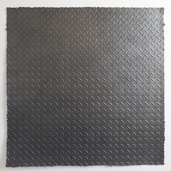 Karin Karlsson, Untitled (from False Flat series), Graphite on casted paper, 2014
